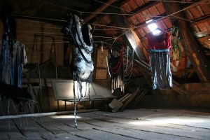 How much clutter do YOU have in your attic?....